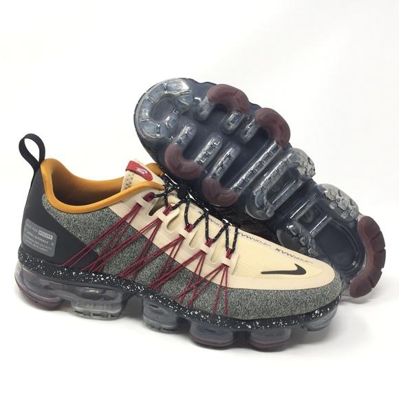 Nike Other - Nike Air Vapormax Run Utility DESERT ORE/SILVER